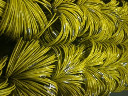 jacketed aircraft cable