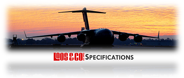 Loos and Company Specifications Header